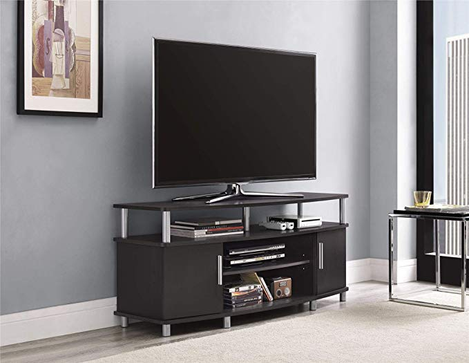 """Ameriwood Home Carson Tv Stand For Tvs Up To 50"""" Wide Pertaining To Colleen Tv Stands For Tvs Up To 50"""" (View 7 of 15)"""