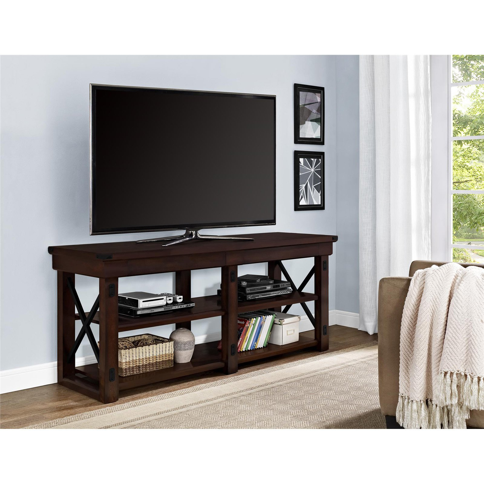 """Ameriwood Home Wildwood Tv Stand For Tvs Up To 65 With Regard To Grenier Tv Stands For Tvs Up To 65"""" (View 3 of 15)"""