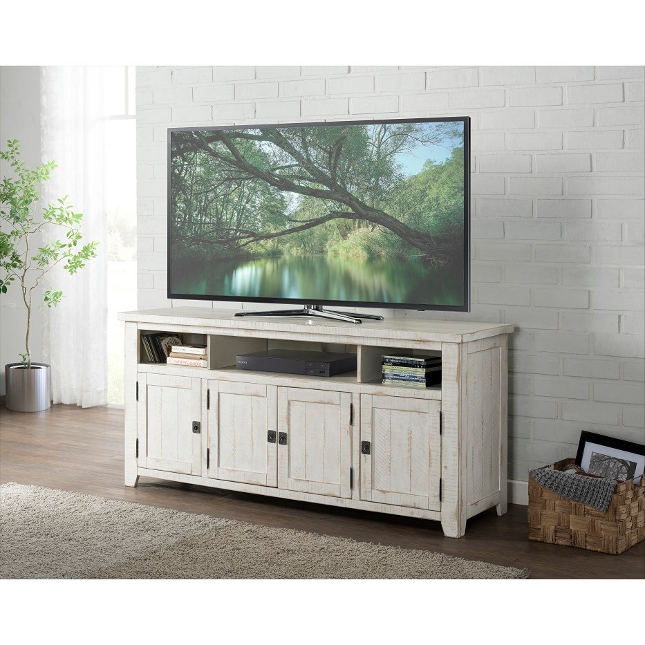 """Antique White 65 Inch Tv Stand – Nantucket   Rc Willey With Regard To Grenier Tv Stands For Tvs Up To 65"""" (View 8 of 15)"""