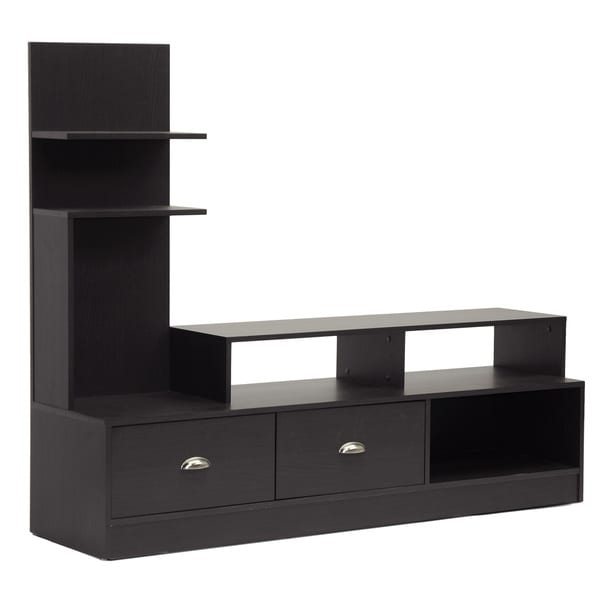 Armstrong Dark Brown Modern Tv Stand – 15920533 Pertaining To Single Tv Stands (View 8 of 15)