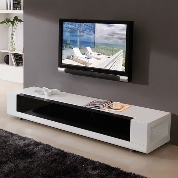 B Modern Editor Tv Console In White – Traditional Regarding Slim Tv Stands (View 14 of 15)
