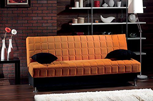 Beyan Rio Collection Upholstered Chenille Sofa Bed With Intended For Hugo Chenille Upholstered Storage Sectional Futon Sofas (View 12 of 15)
