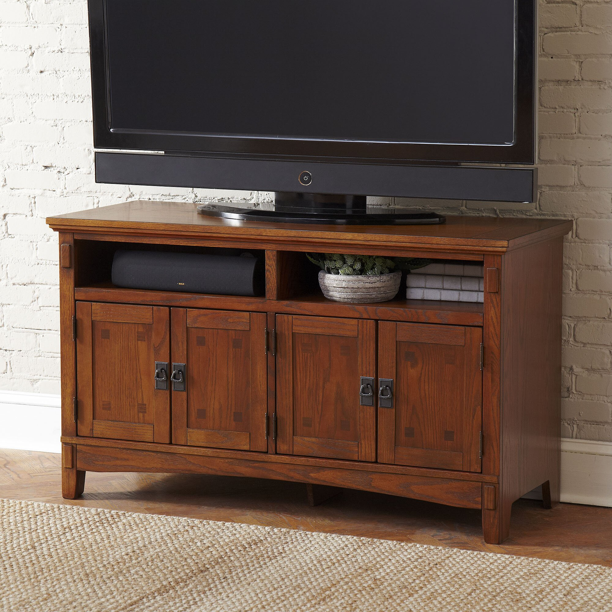 """Birch Lane Hickham 50 Inch Tv Stand & Reviews 