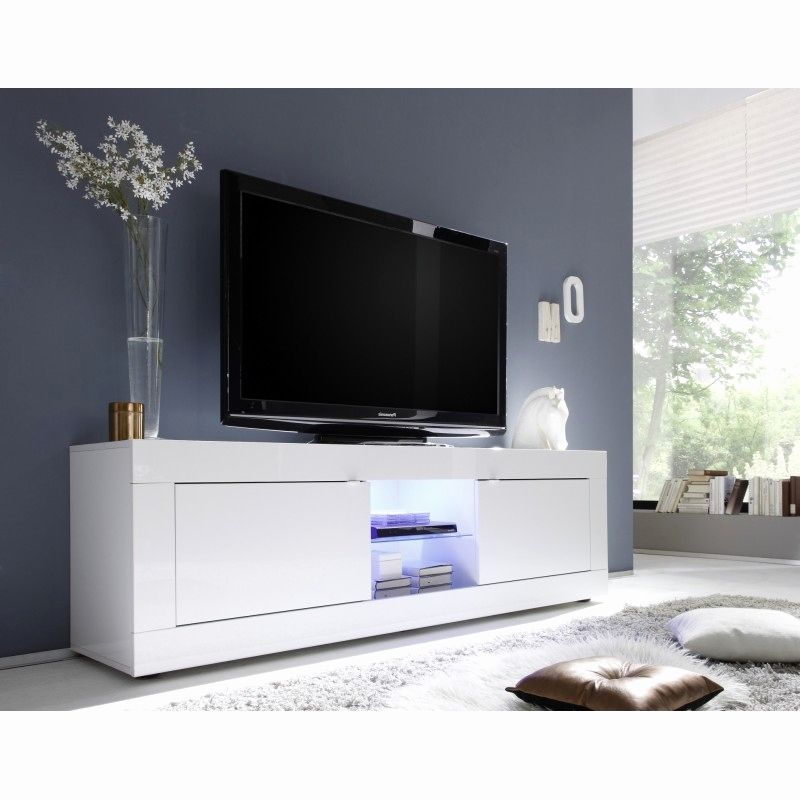Black And White Tv Stand New Top 50 White High Gloss Tv Regarding Long Black Gloss Tv Unit (View 7 of 15)