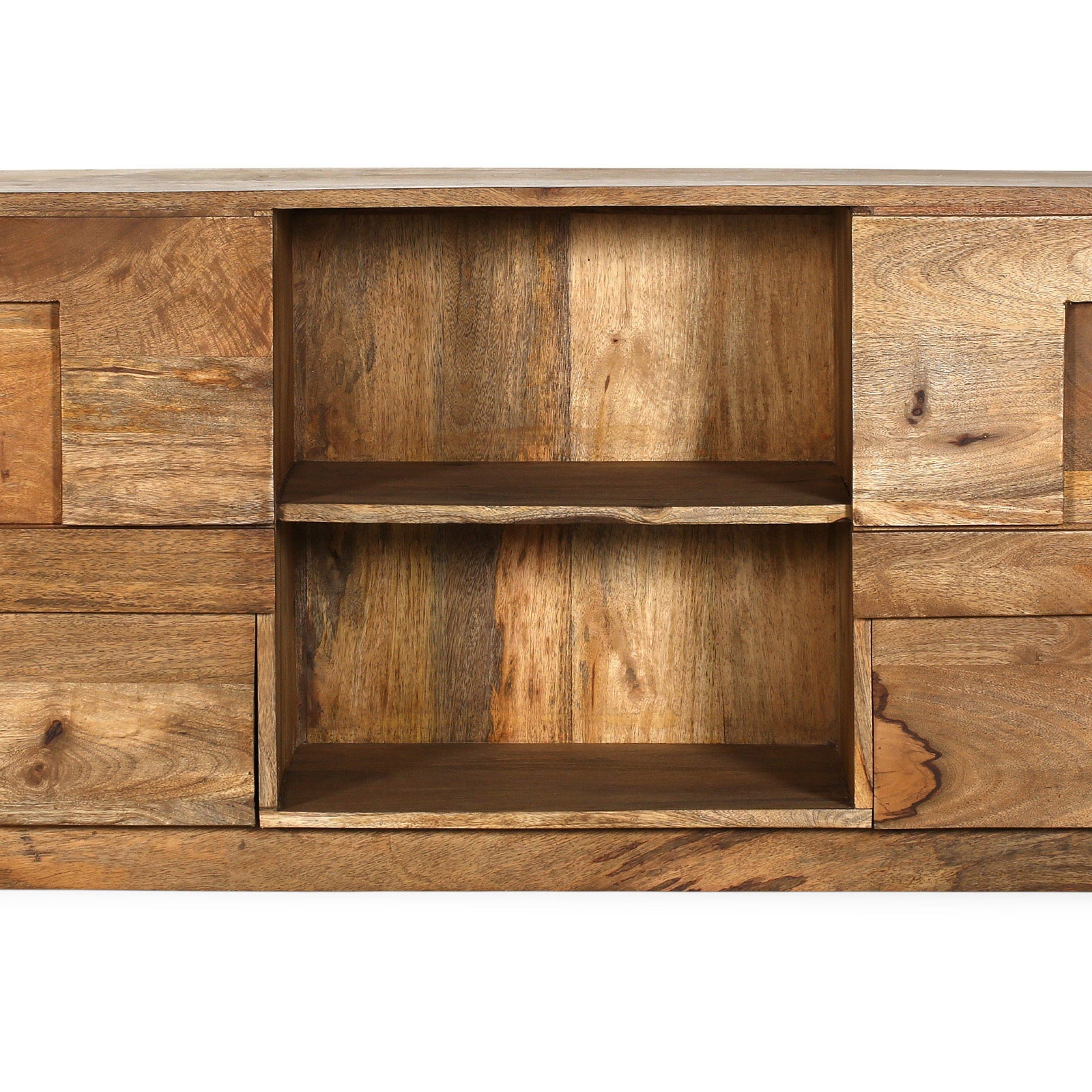 Buy Mango Tv Furniture – Jakarta Natural Wood 58881 In The In Jakarta Tv Stands (View 3 of 15)