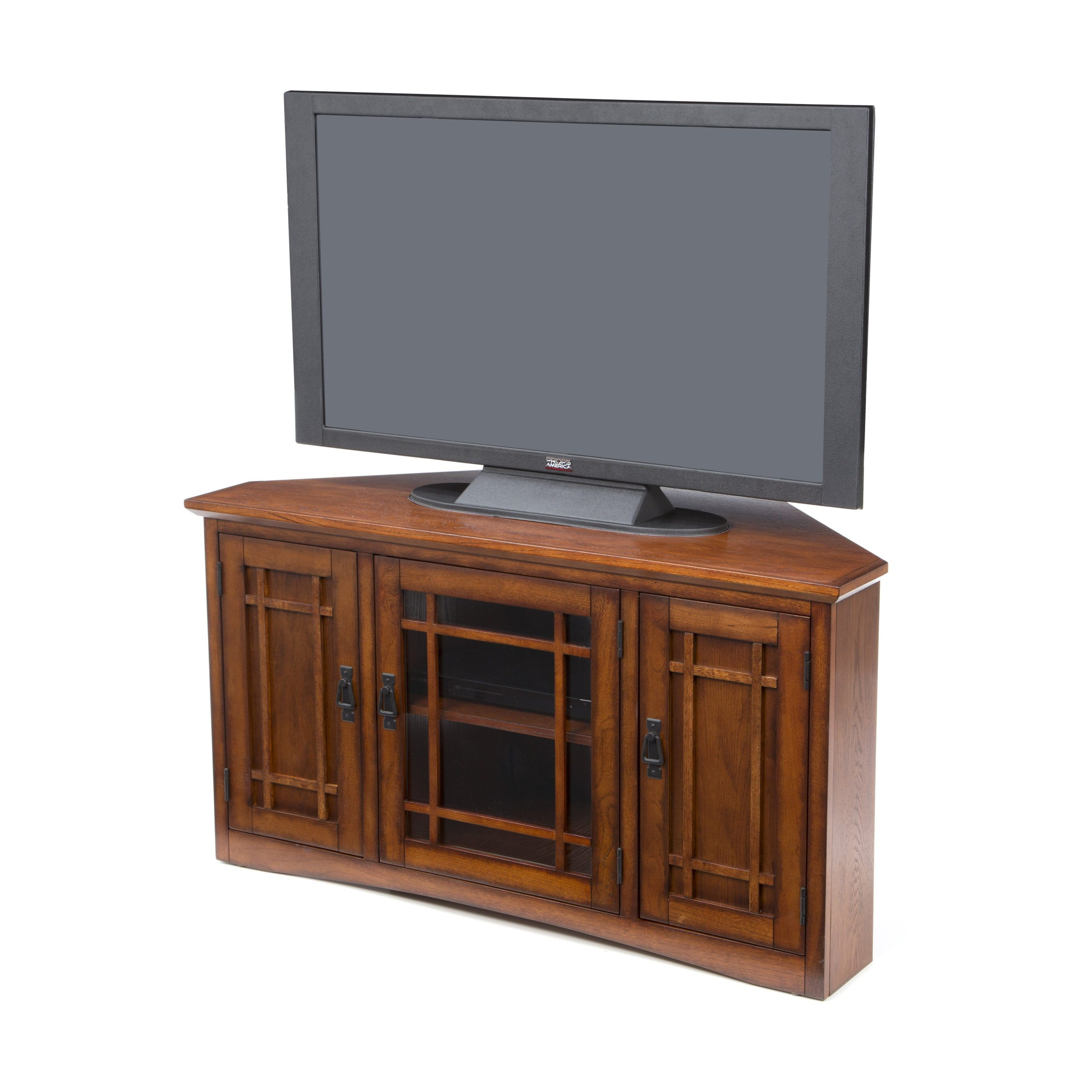 Charlton Home Stodeley Corner Tv Stand & Reviews   Wayfair With Regard To Low Corner Tv Stands (View 12 of 15)
