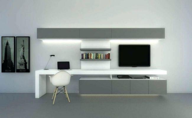 Computer Desk Tv Stand Combo Architecture | Desk In Living For Tv Stand Computer Desk Combo (View 2 of 15)