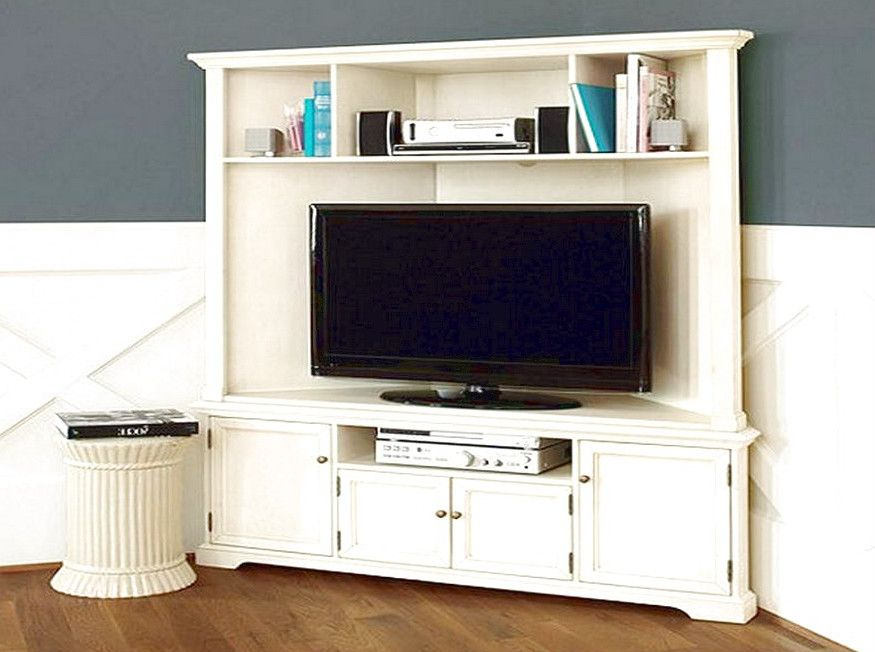 Corner Tv Cabinets For Flat Screens With Doors – Careful Throughout Corner Tv Cabinet With Hutch (View 12 of 15)