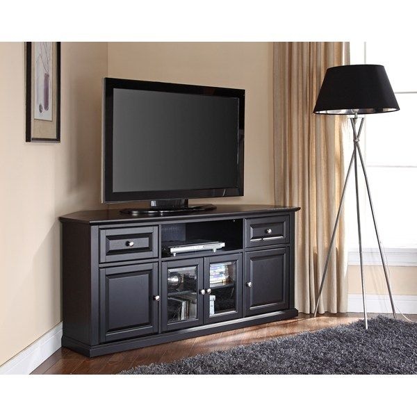 Crosley 60 Inch Corner Tv Cabinet Stand   Online Information With Regard To Corner 60 Inch Tv Stands (View 5 of 15)