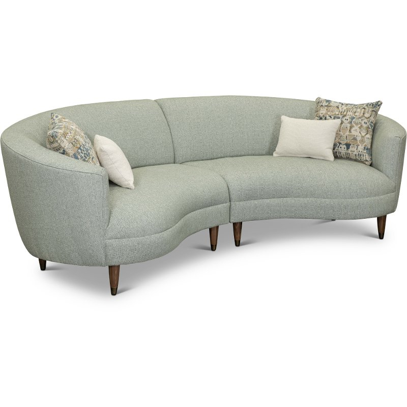 Curved Conversation Sectional Sofa Are Leather Pertaining To French Seamed Sectional Sofas Oblong Mustard (View 8 of 15)