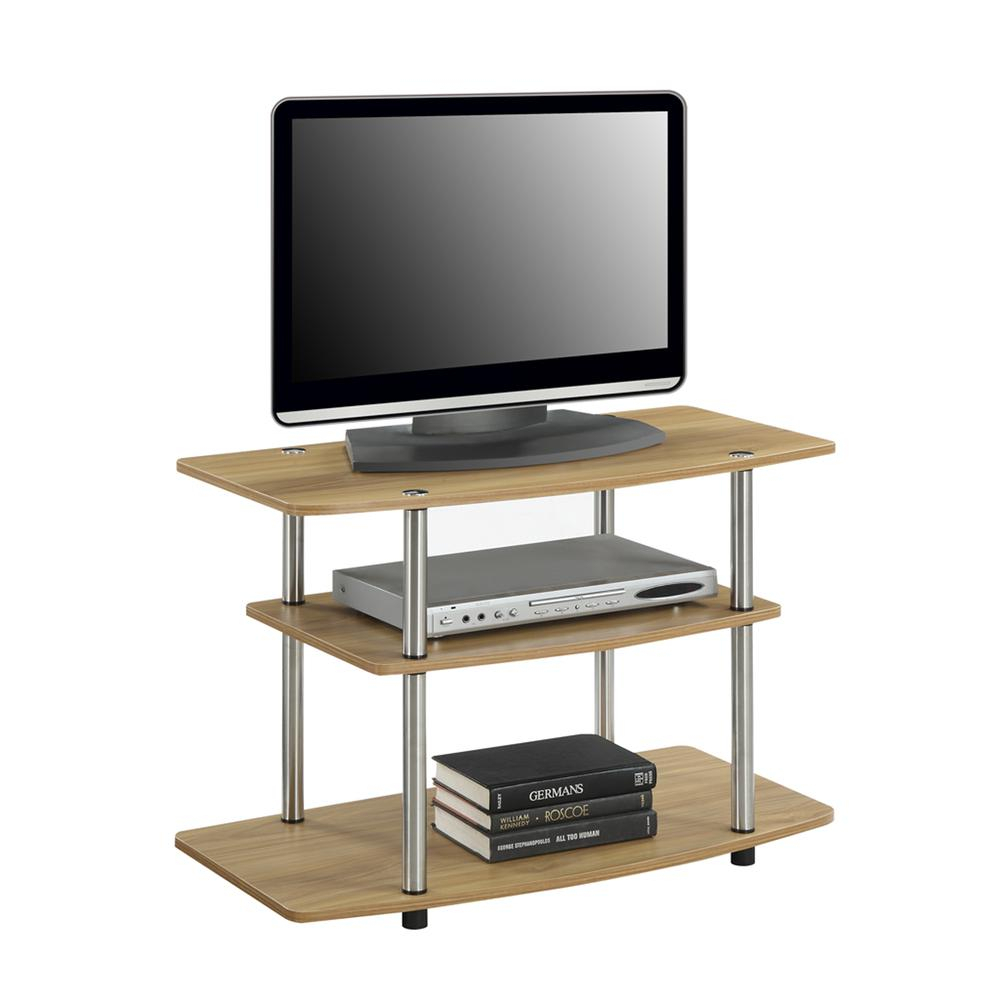 Designs2go 3 Tier Tv Stand Inside Tier Entertainment Tv Stands In Black (View 12 of 15)