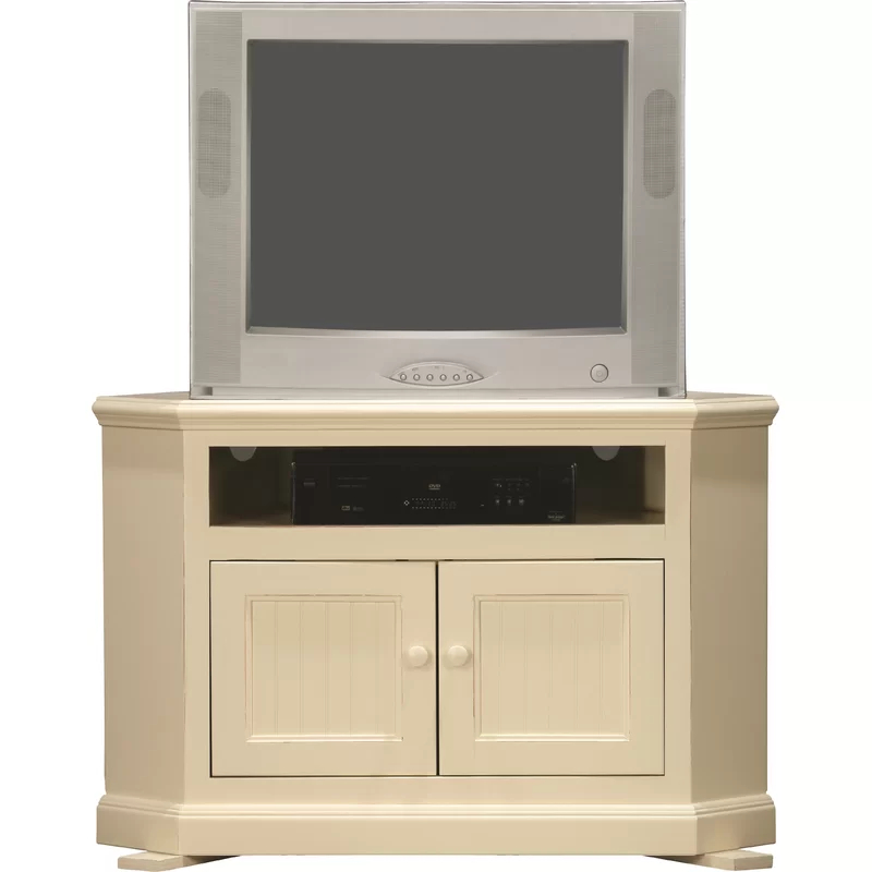 """Didier Corner Tv Stand For Tvs Up To 43"""" & Reviews   Joss Inside Joss And Main Tv Stands (View 2 of 15)"""