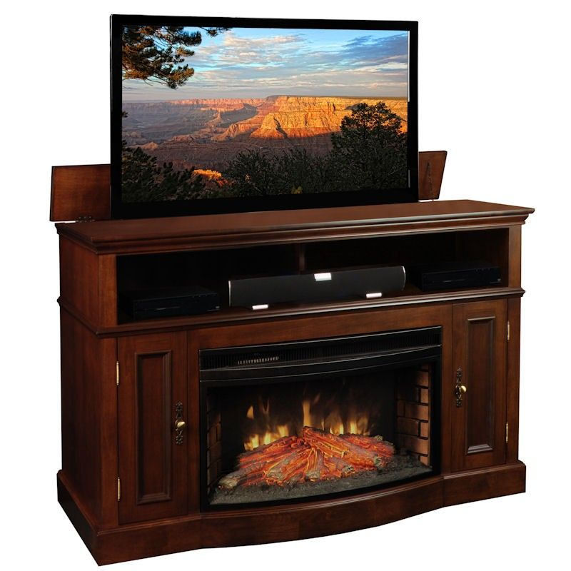 Elektro Kamin Lowes #elektrokamin   Fireplace Tv Stand Pertaining To Twin Star Home Terryville Barn Door Tv Stands (View 1 of 15)
