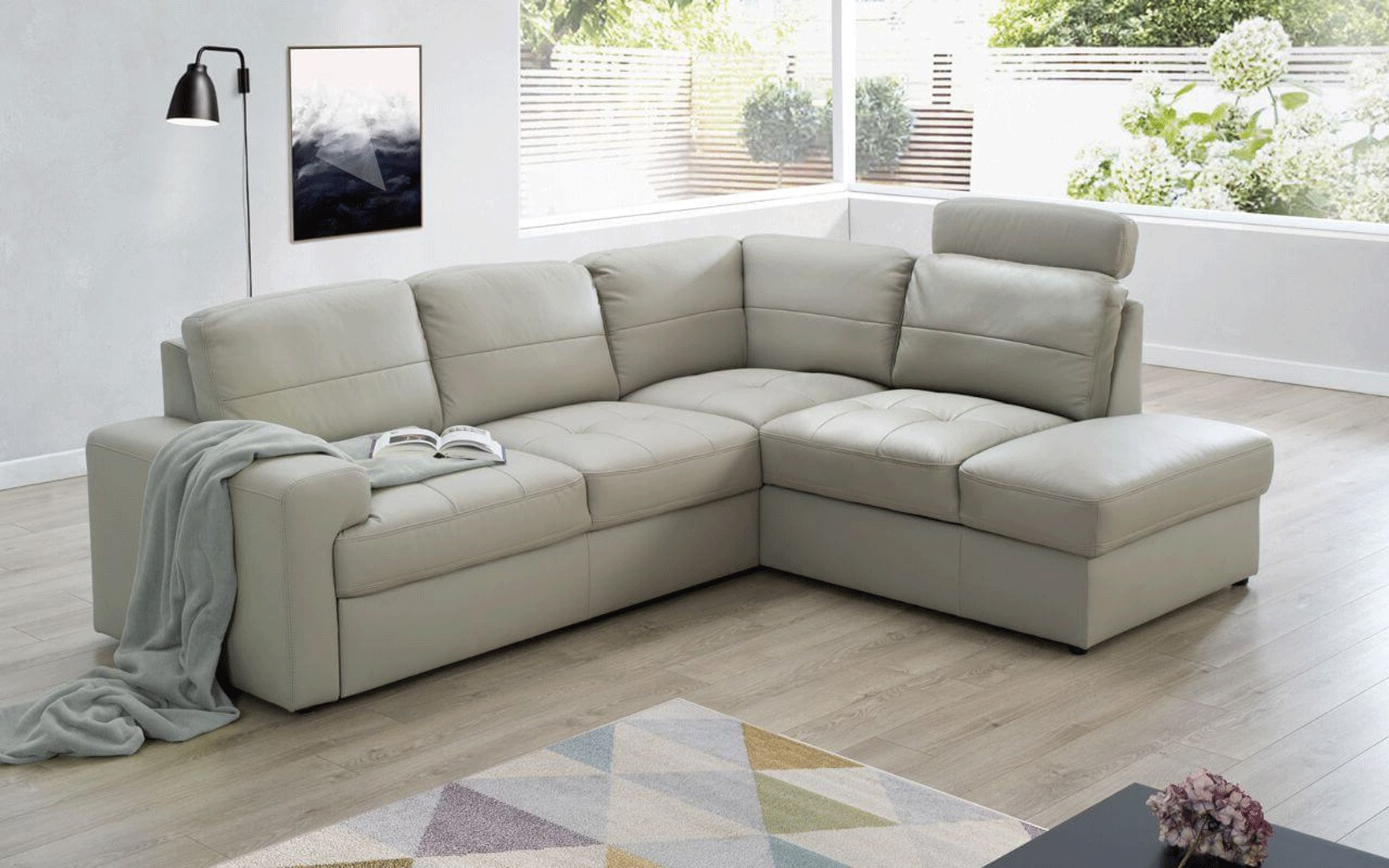 Ella Sectional Right W/bed & Storage, Sectionals With Within Hannah Right Sectional Sofas (View 14 of 15)
