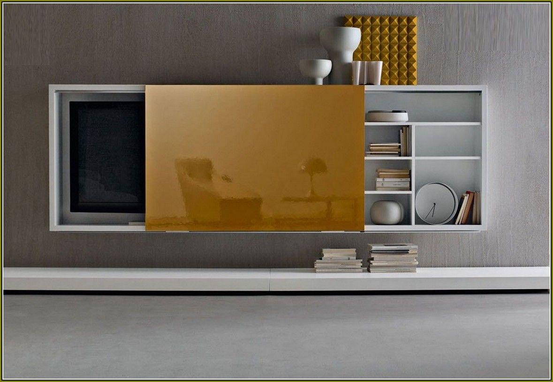 Flat Screen Tv Cabinet With Sliding Doors – Best Home Regarding Santiago Tv Stands (View 6 of 15)