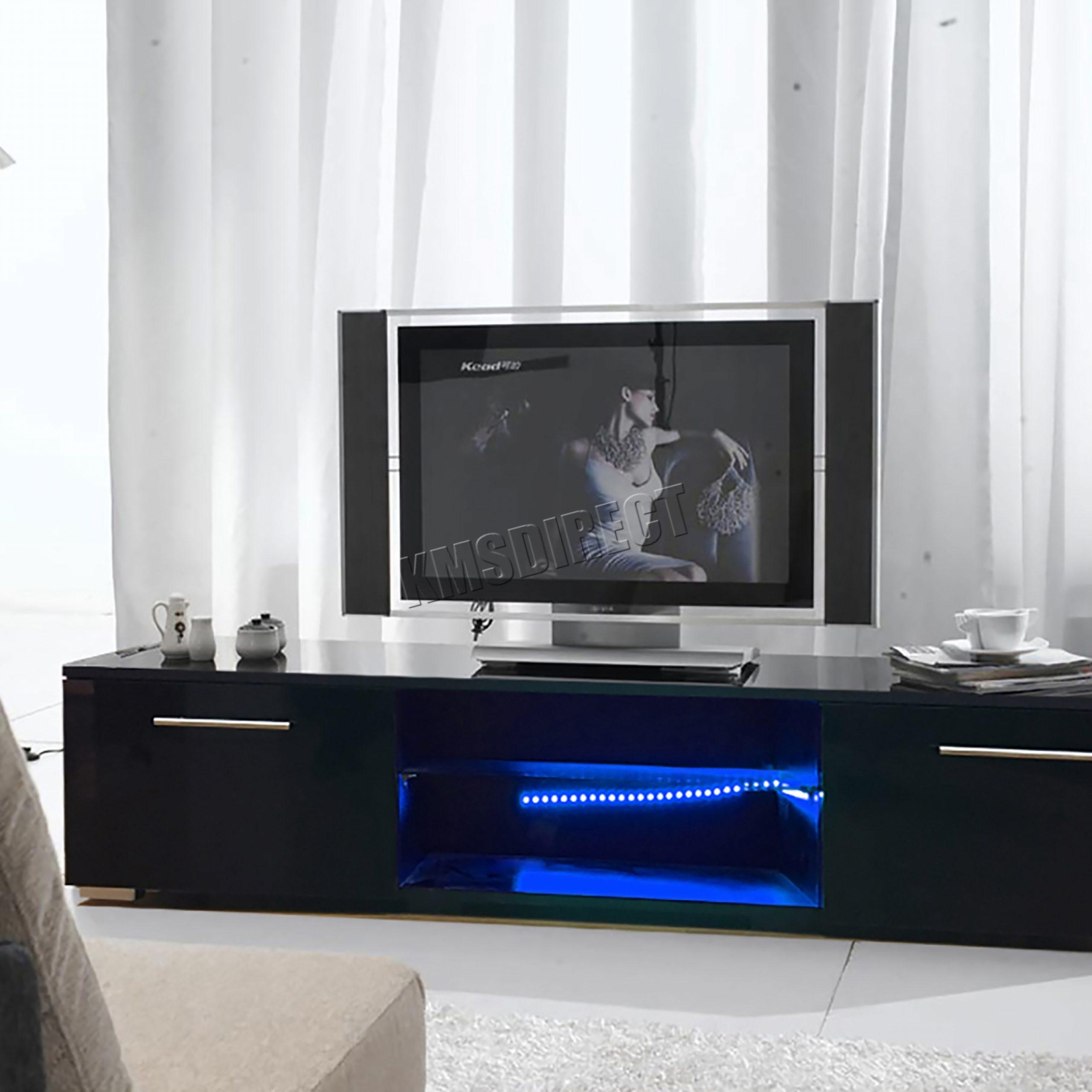 Foxhunter Modern High Gloss Matt Tv Cabinet Unit Stand For High Gloss Tv Cabinet (View 1 of 15)