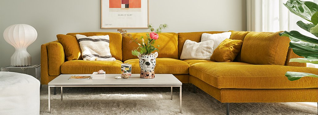 Freud Sofaadventures In Furniture Pertaining To French Seamed Sectional Sofas Oblong Mustard (View 9 of 15)