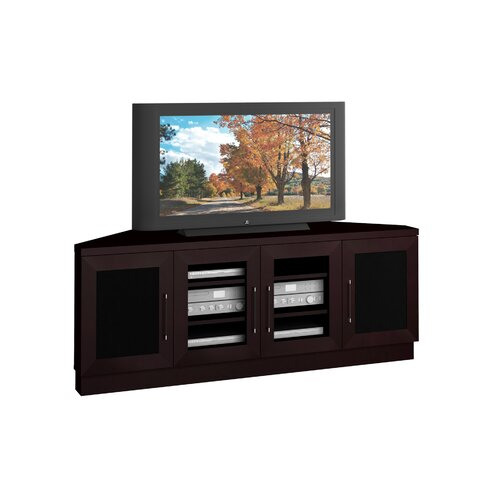 """Furnitech Contemporary 60"""" Corner Tv Stand & Reviews   Wayfair For Corner 60 Inch Tv Stands (View 6 of 15)"""