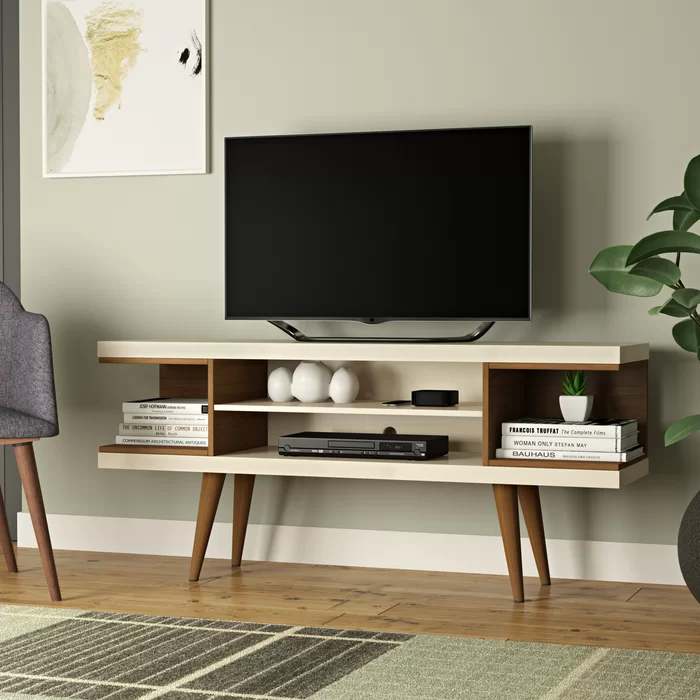"""George Oliver Lemington Tv Stand For Tvs Up To 50 Intended For Aaliyah Floating Tv Stands For Tvs Up To 50"""" (View 12 of 15)"""