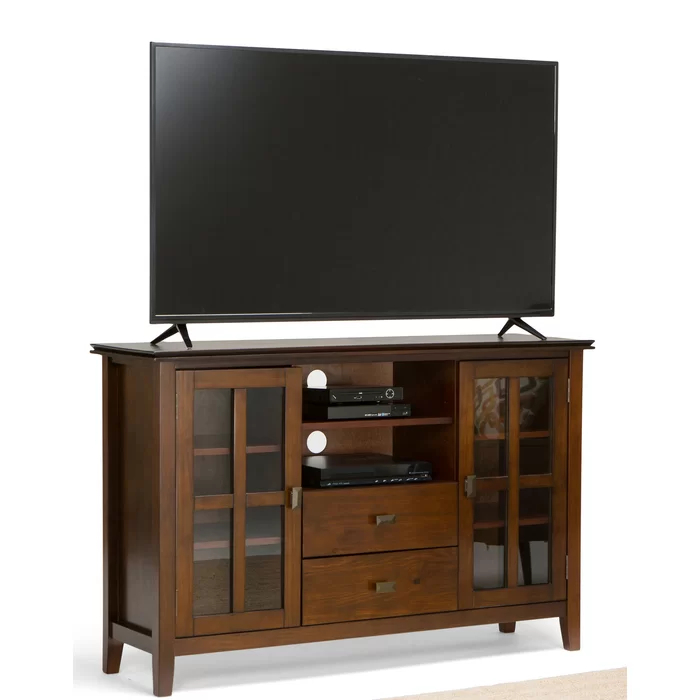"""Gosport Solid Wood Tv Stand For Tvs Up To 65"""" In 2020 Throughout Grenier Tv Stands For Tvs Up To 65"""" (View 9 of 15)"""