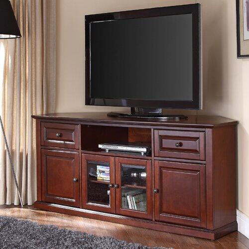 "Hokku Designs 60"" Corner Tv Stand & Reviews   Wayfair With Corner 60 Inch Tv Stands (View 13 of 15)"