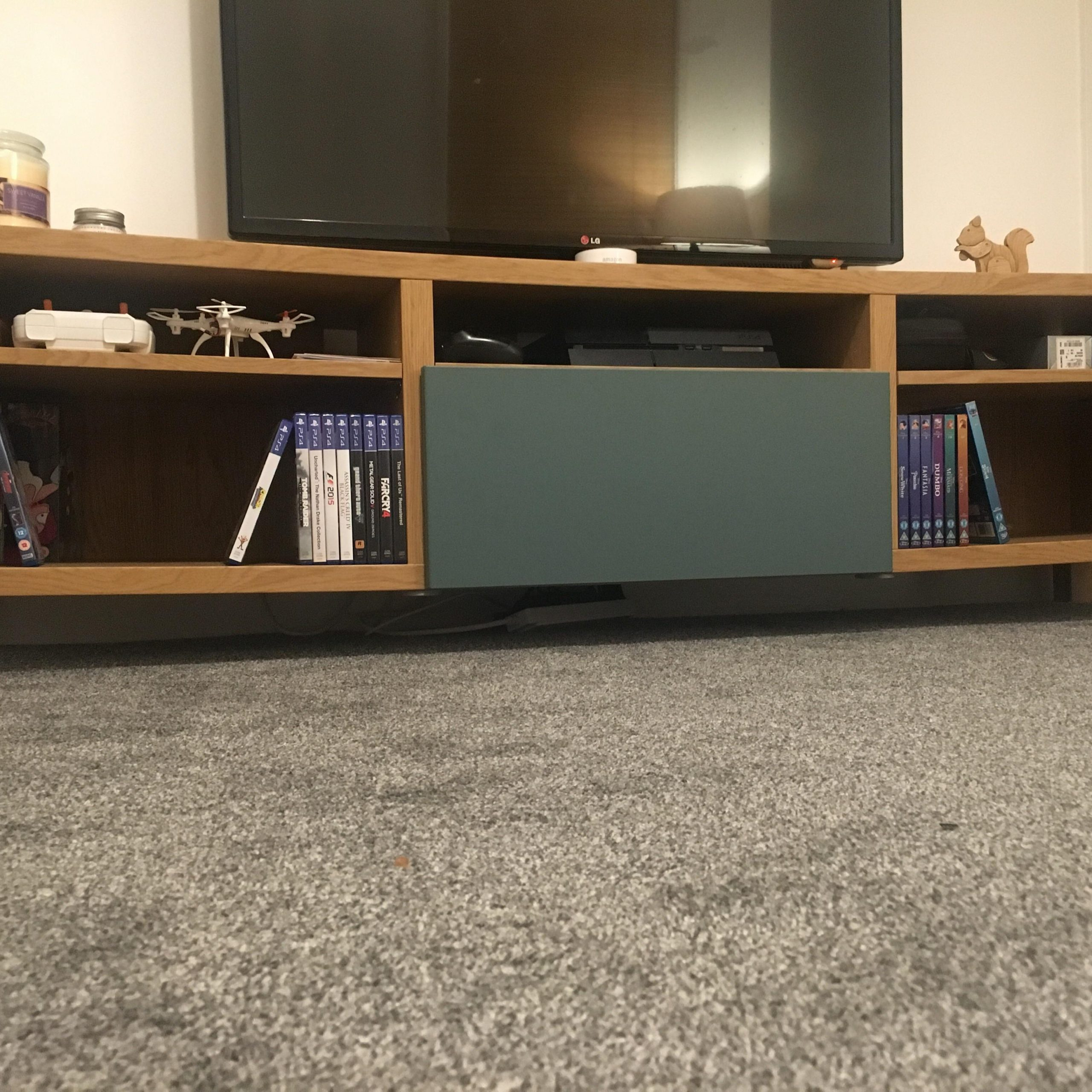 Ikea Besta Tv Stand Sagging In The Middle, Setup As Seen For Tv Stands At Ikea (View 5 of 15)