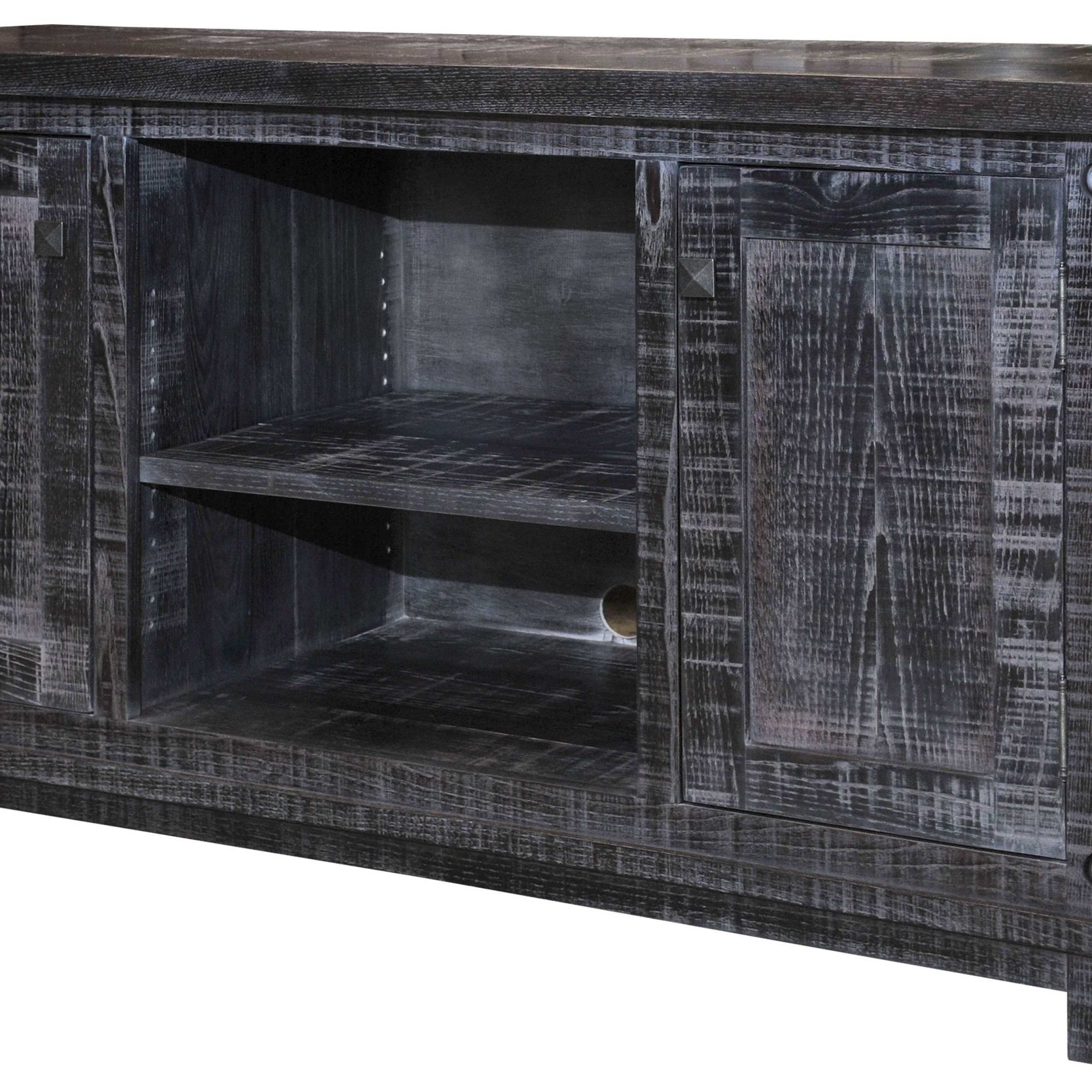Joinery House | Muskoka Rustic Tv Stand | Shown In Wormy Throughout Maple Tv Cabinets (View 9 of 15)