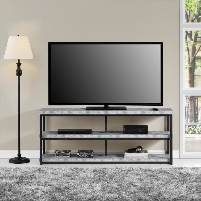 """Kenmore Tv Stand For Tvs Up To 65 Inches   Grey Room With Regard To Grenier Tv Stands For Tvs Up To 65"""" (View 10 of 15)"""