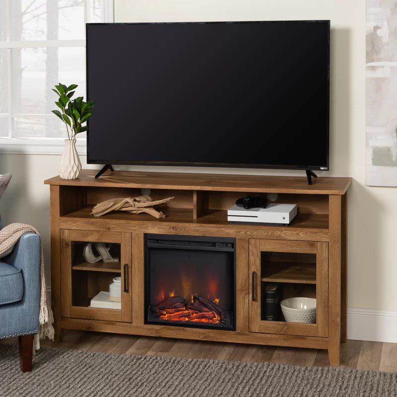 Kohn Tv Stand For Tvs Up To 60 Inches With Fireplace With Regard To Joss And Main Tv Stands (View 6 of 15)