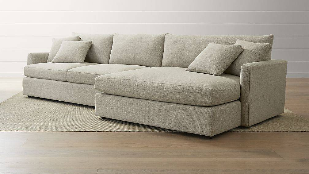 Lounge Piece Right Arm Double Chaise Sectional Sofa – Cute Throughout Hannah Right Sectional Sofas (View 12 of 15)