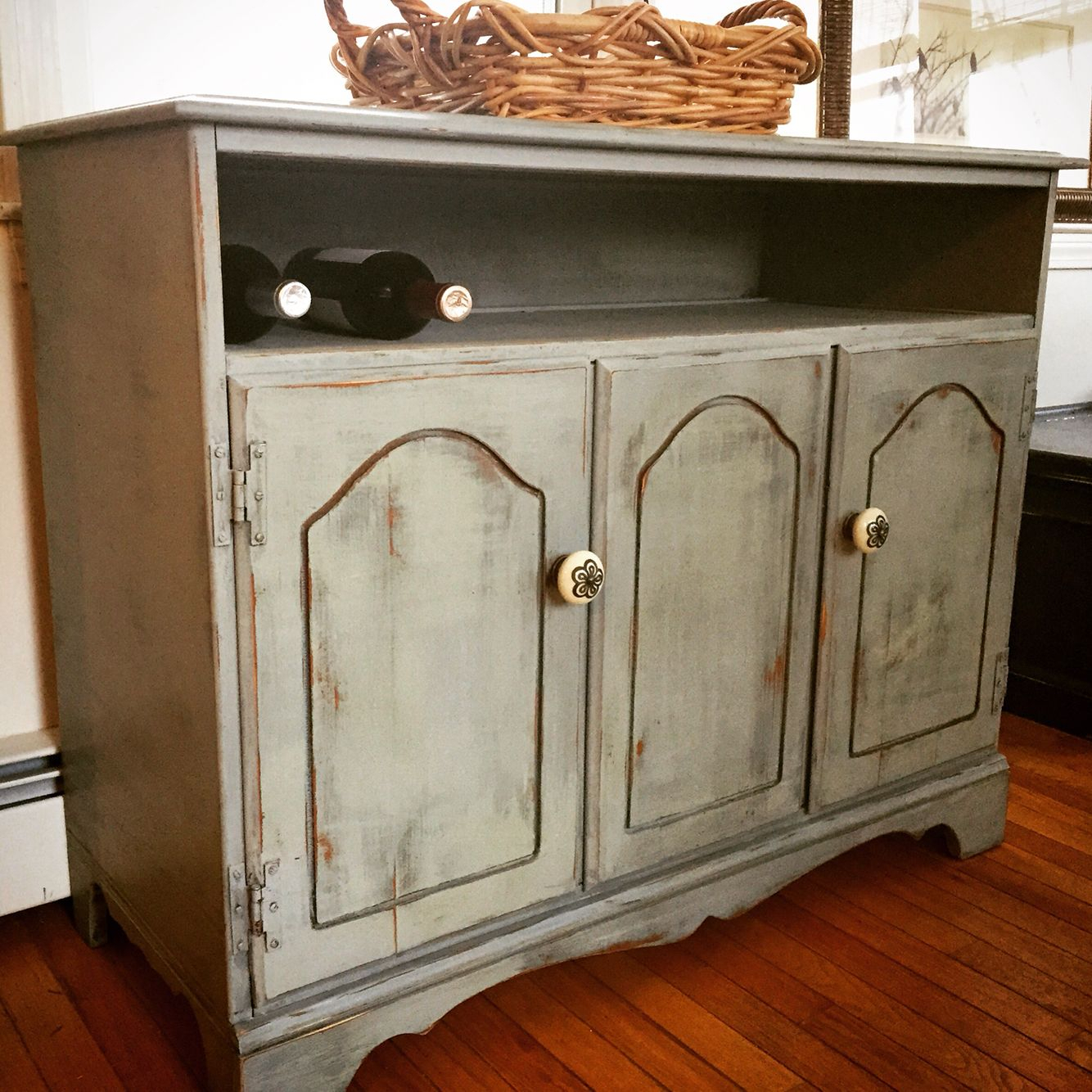 Maple Cabinet Turned Into A Tv Console Or Sideboard Intended For Maple Tv Cabinets (View 13 of 15)