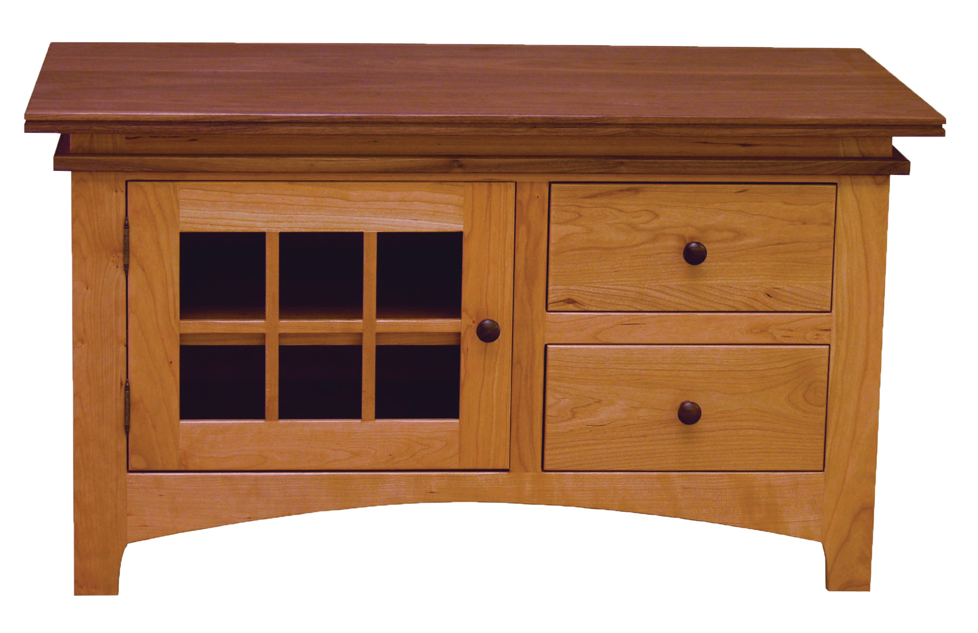 Maple Creek Tv Stand | Norman's Handcrafted Furniture Intended For Maple Tv Cabinets (View 1 of 15)