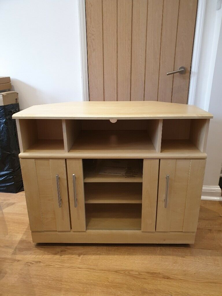 Maple Tv Stand | In South East London, London | Gumtree Inside Maple Tv Cabinets (View 2 of 15)