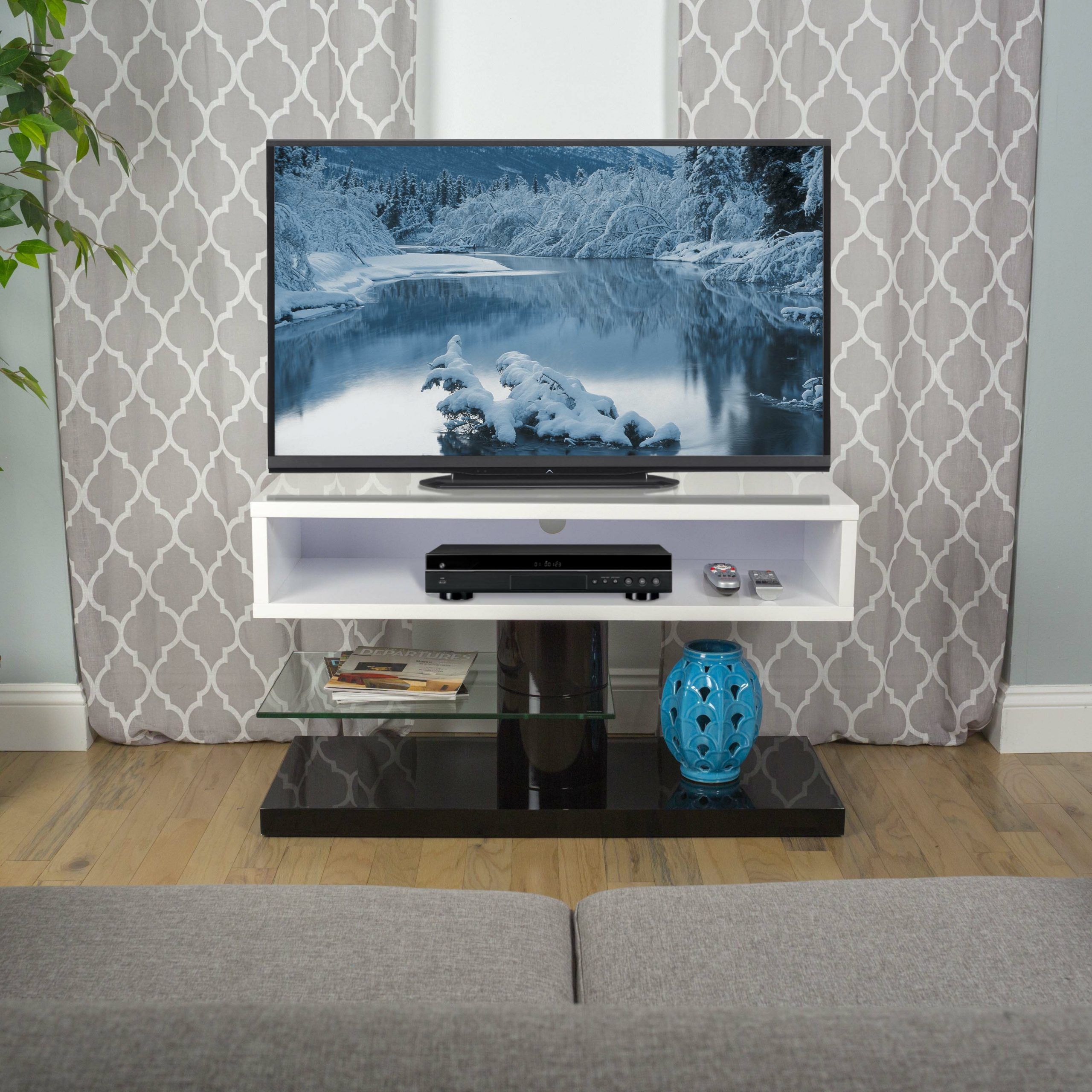 Matrix Bayern Flat Screen Tv Stand & Reviews | Wayfair Pertaining To Easel Tv Stands For Flat Screens (View 11 of 15)