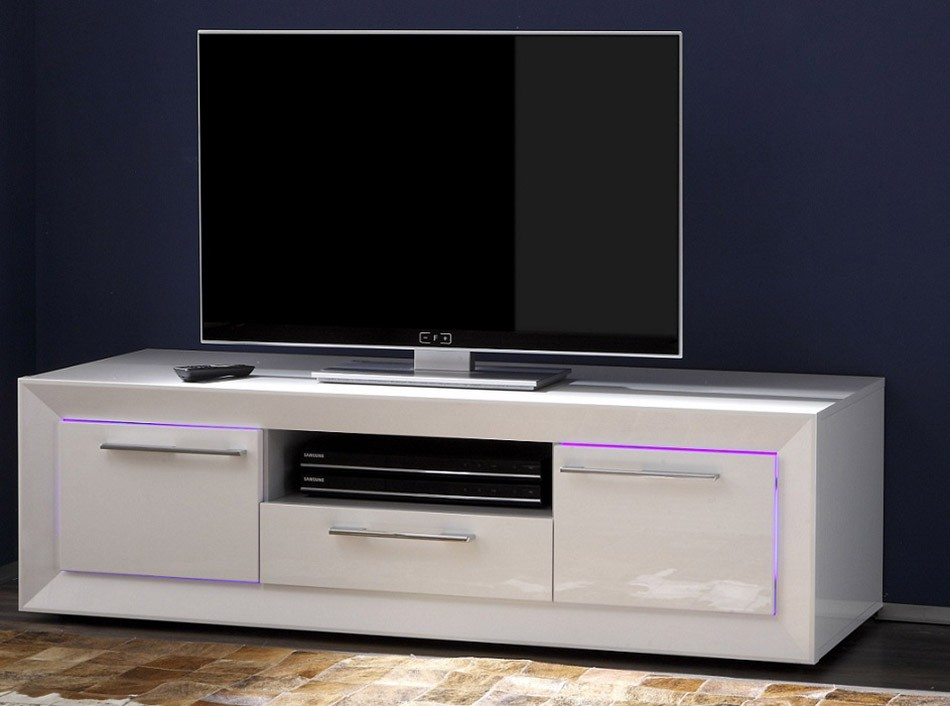 Modern Italian Tv Stand Salina Smalllc Mobili – Tv Pertaining To Small Tv Tables (View 9 of 15)