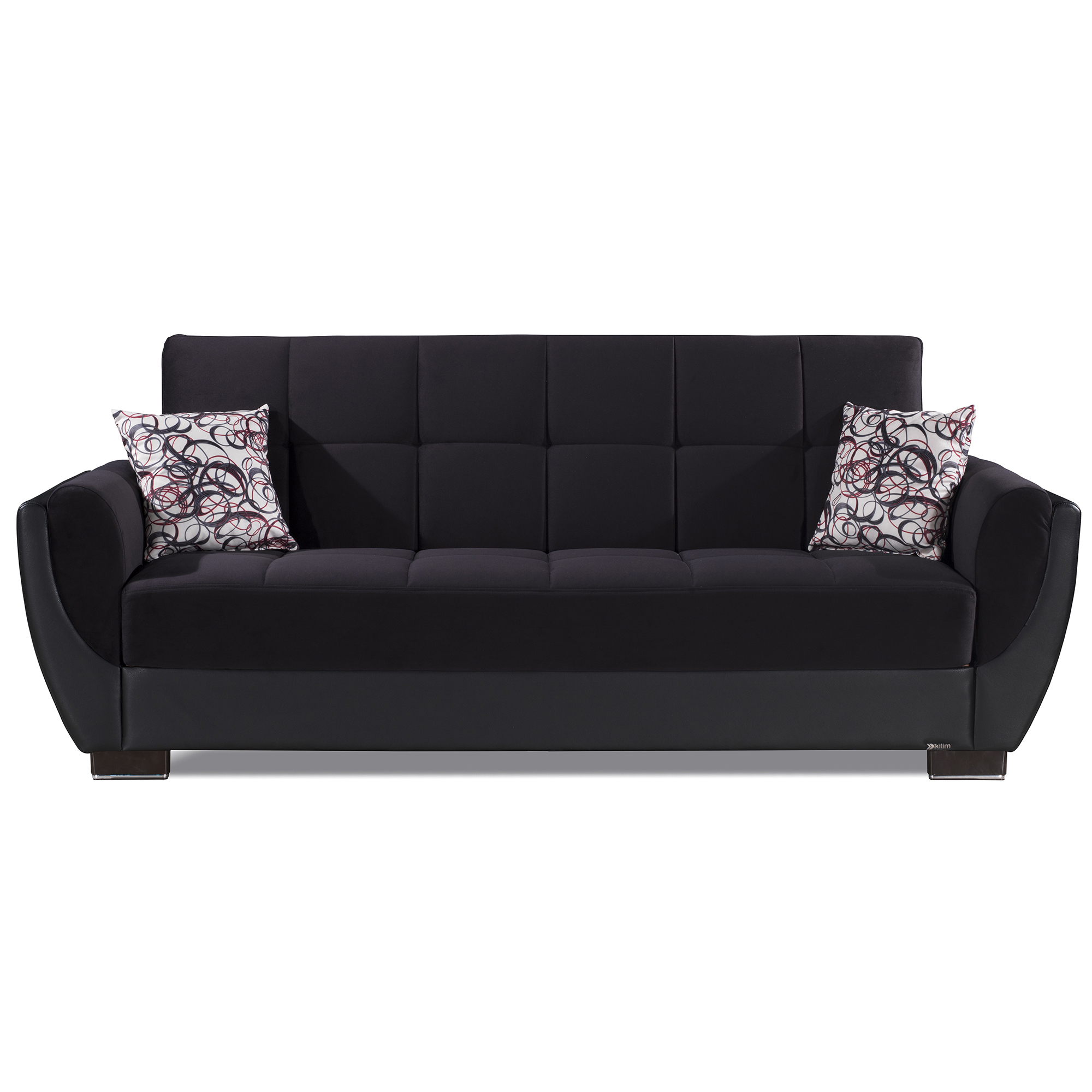 Ottomanson Armada Air Fabric Upholstery Sleeper Sofa Bed For Hartford Storage Sectional Futon Sofas (View 4 of 15)