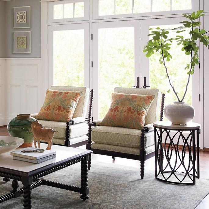 Petite Bobbin Chair   Bobbin Chair, Chair, Home Decor In Debbie Coil Sectional Sofas (View 4 of 15)