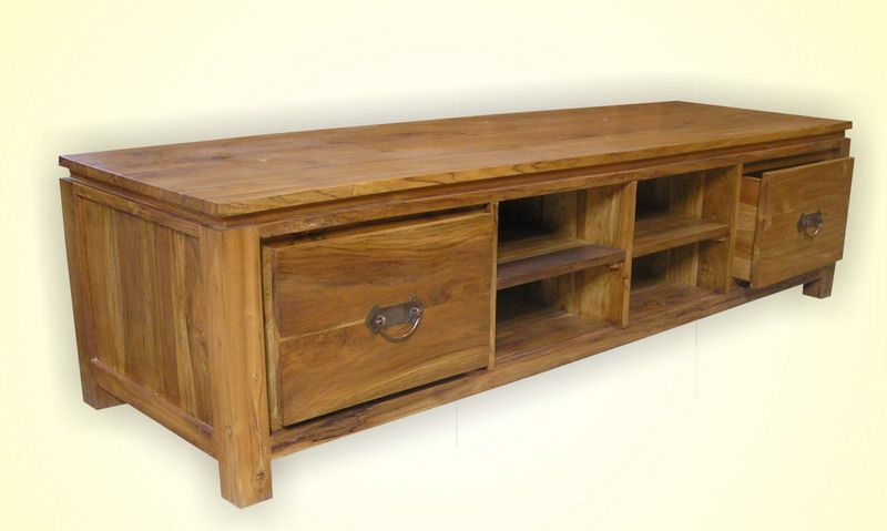 Pin On Indonesian Teak Indoor Tv Table With Jakarta Tv Stands (View 15 of 15)