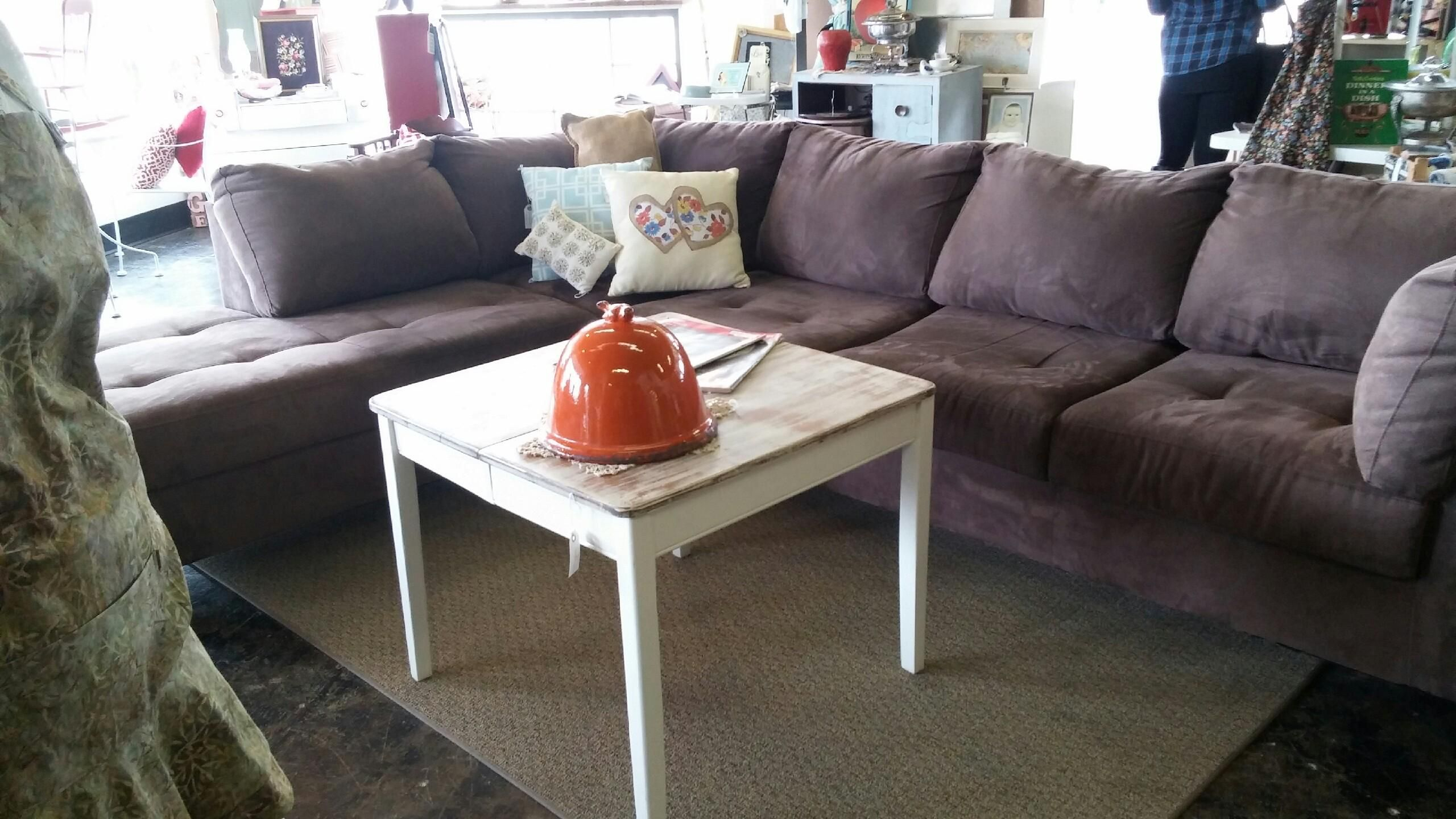 Pinmustard Seed Home Decor & More On Furniture With Regard To French Seamed Sectional Sofas Oblong Mustard (View 7 of 15)