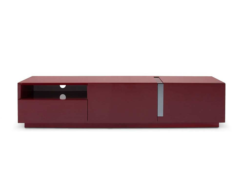 Red High Gloss Tv Unit Sj027   Tv Stands Throughout Red Tv Units (View 11 of 15)