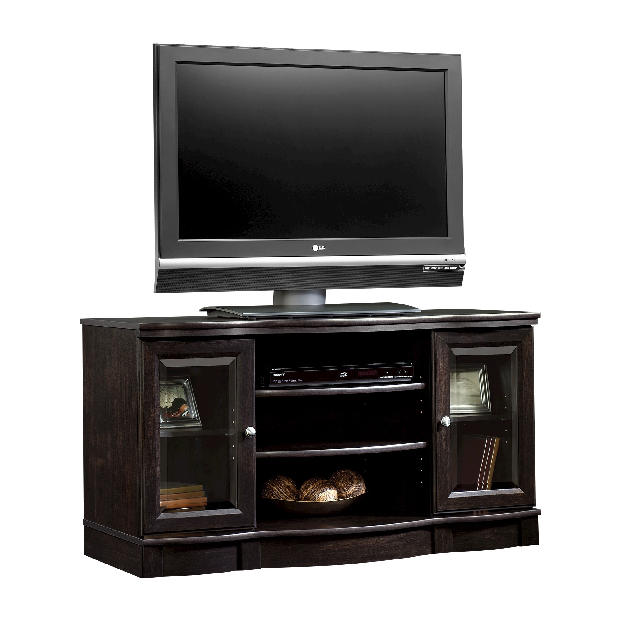 """Regent Place Panel Tv Stand For Tvs Up To 50"""" Estate Black Throughout Aaliyah Floating Tv Stands For Tvs Up To 50"""" (View 14 of 15)"""
