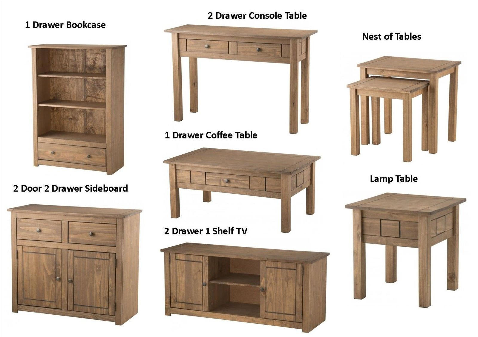 Santiago Living Room Furniture – Sideboard Bookcase Tables Within Santiago Tv Stands (View 15 of 15)