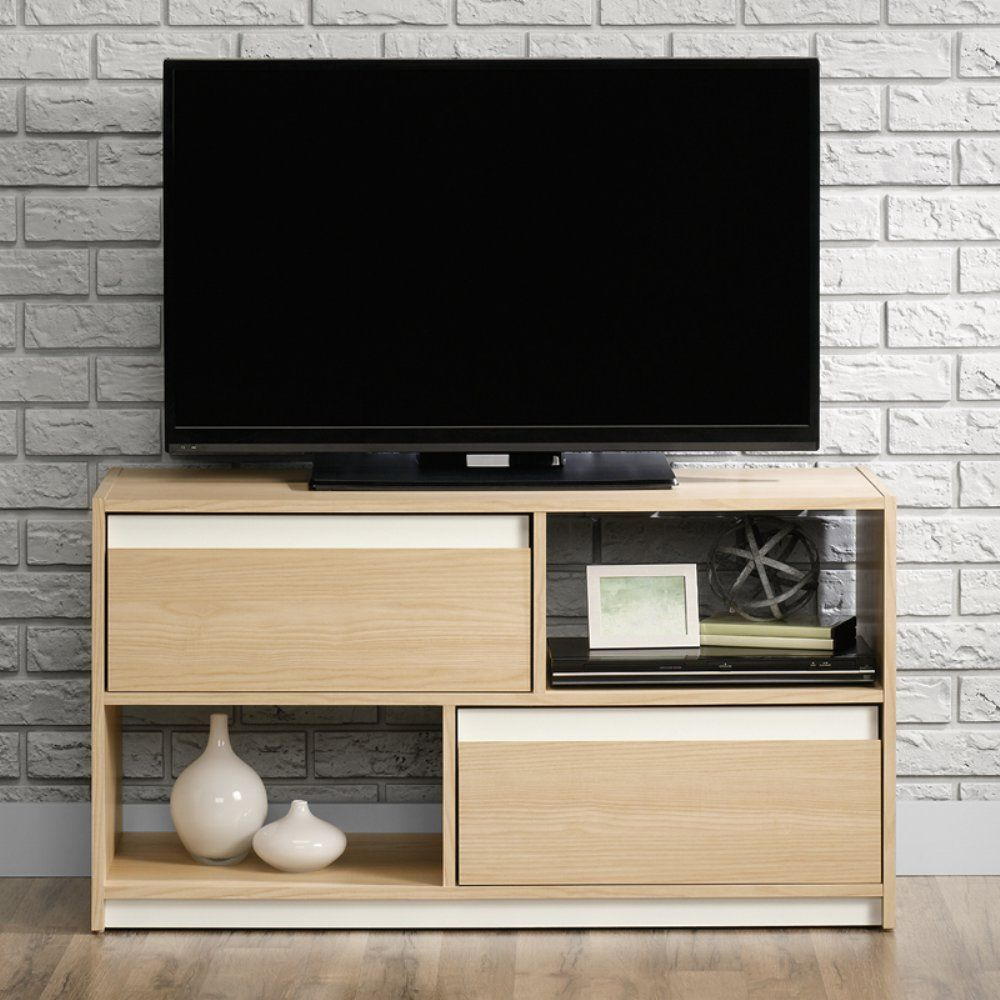 Sauder Square 1 Tv Stand With Reversible Accents   Www Intended For Square Tv Stands (View 7 of 15)