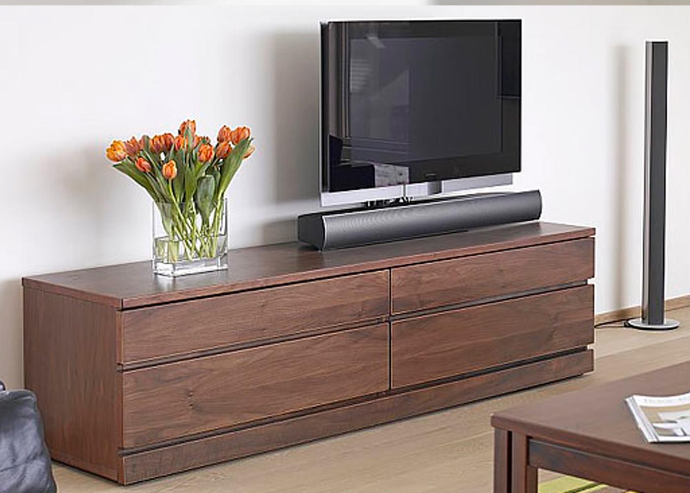 Skovby Sm87 Tv Cabinet In Walnut Finish 1 – Midfurn Regarding Tv Stands Cabinets (View 6 of 15)