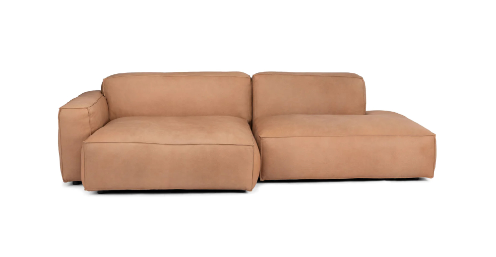 Solae Canyon Tan Left Sectional   Mid Century Modern For Florence Mid Century Modern Left Sectional Sofas (View 12 of 15)