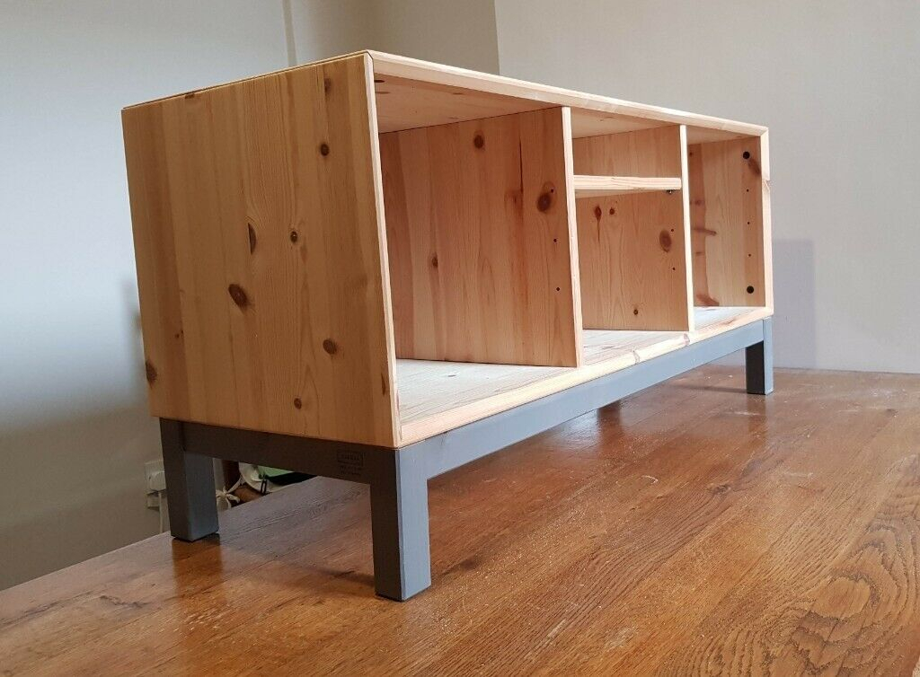 Solid Wood Ikea Tv Stand In Sa1 | In Swansea | Gumtree Within Tv Stands At Ikea (View 10 of 15)
