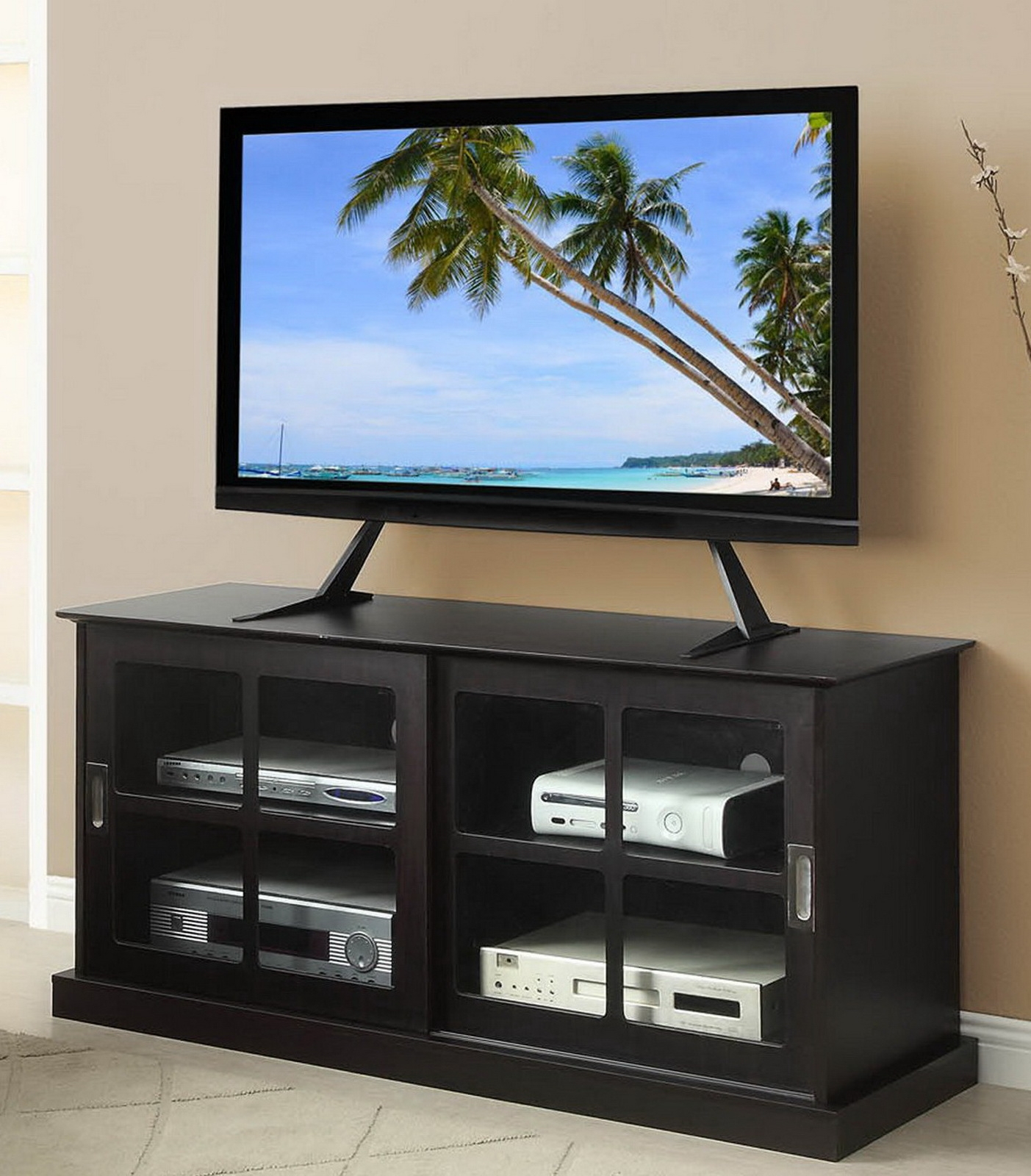 Table Top Flat Screen Tv Stand Inside Easel Tv Stands For Flat Screens (View 8 of 15)