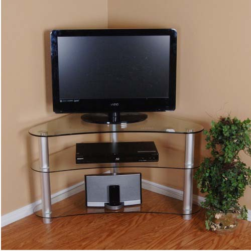 Tall Corner Tv Stand: Designs And Images – Homesfeed Inside Low Corner Tv Stands (View 13 of 15)