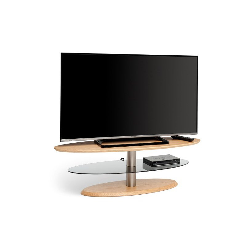 Techlink Eclipse Elliptical Light Oak Tv Stand (ee120lo) Within Techlink Air Tv Stands (View 1 of 15)