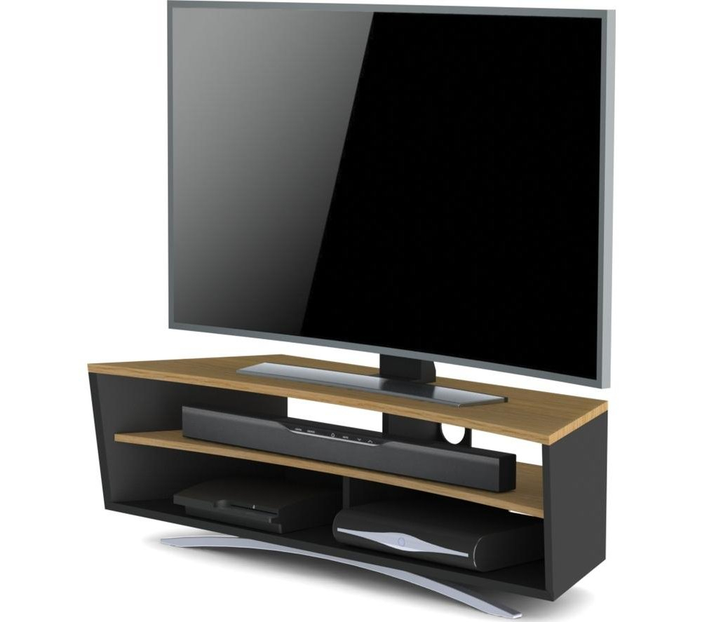 Techlink Pr130sblo Prisma Tv Stand For Up To 65 Inch Tvs Inside Techlink Air Tv Stands (View 2 of 15)